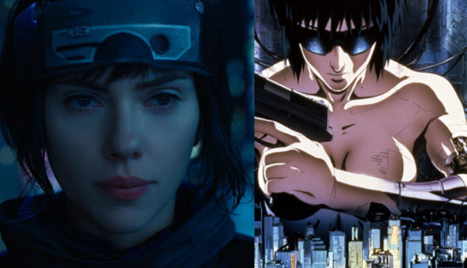 ... Ghost In The Shell Trailer Redone With Music From Original Anime Film